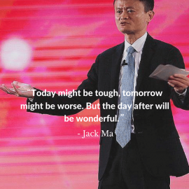 Jack Ma's motivating pieces of advice for entrepreneurs