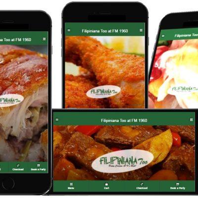 Filipiniana Too Restaurant mobileApp